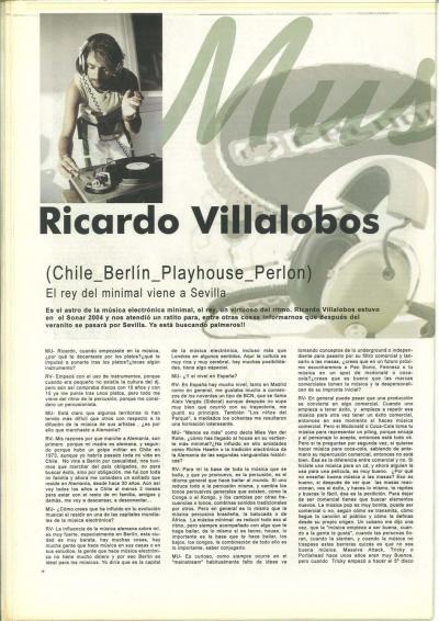 Entrevista a Ricardo Villalobos Chile