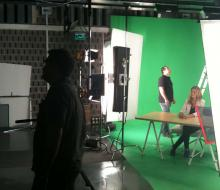 Rodaje produccion audiovisual Sevilla Extenda-plus
