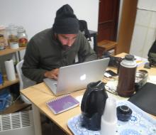 Rodaje campaña Vivimos en Andalucía - Jefe de producción Javiero Lebrato