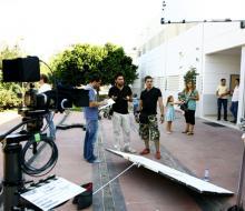 Producción audiovisual Sevilla spot Andalucia somos todos. Jefe prod.: Javiero